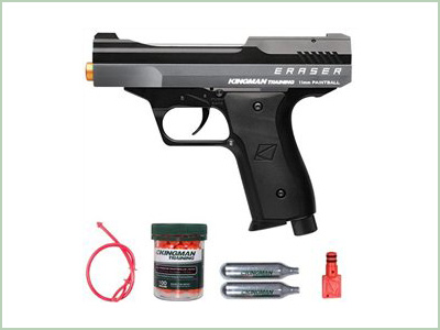 Kingmann Training Eraser Pistol .43 Cal Grey